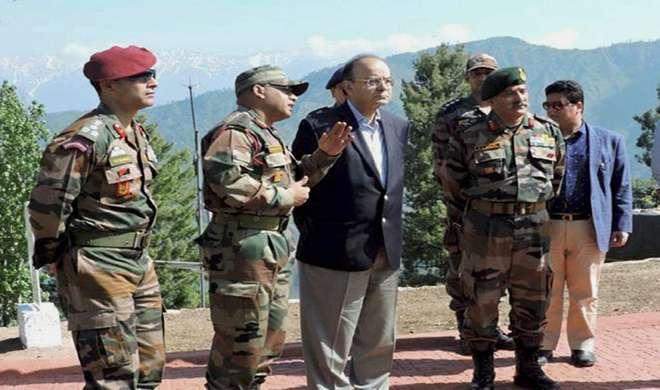 केंद्र कश्मीर में शांति और आतंकियों से सख्ती के पक्ष में : जेटली