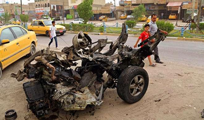 इराक: आत्मघाती कार बम हमलों में 35 की मौत, दर्जनों घायल - India TV