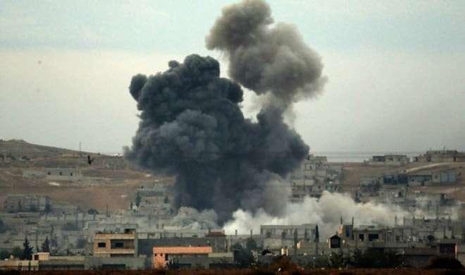 सीरिया: US ने पहली बार सरकार समर्थित बलों पर सीधा हवाई हमला किया