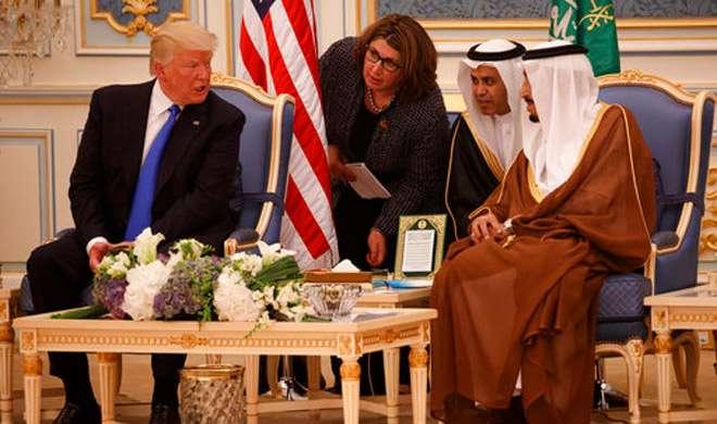 हथियारों के सौदे के साथ शुरू हुई डोनाल्ड ट्रंप की सउदी यात्रा