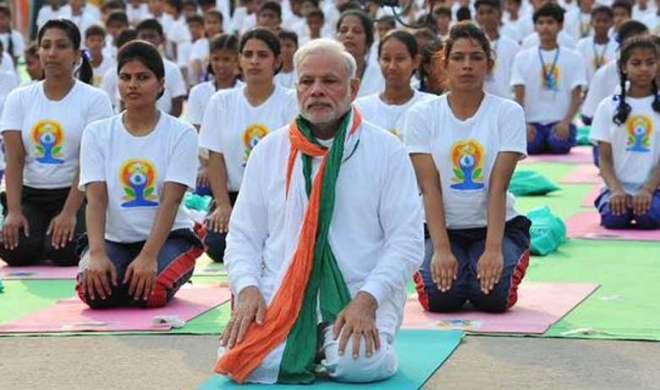 प्रधानमंत्री नरेंद्र मोदी आज लखनऊ पहुंचेंगे, कल 50 हजार लोगों के साथ करेंगे योग - India TV