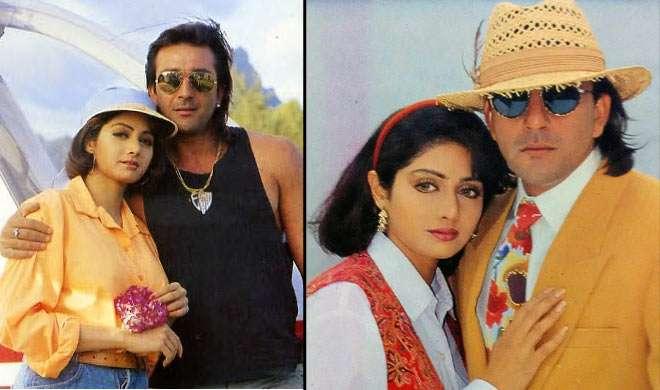 25 साल बाद फिर बड़े पर्दे पर साथ दिखेगी श्रीदेवी और संजय दत्त की मशहूर जोड़ी