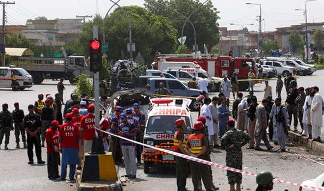 तालिबान के आत्मघाती हमले में मेजर समेत 3 पाकिस्तानी जवानों की मौत