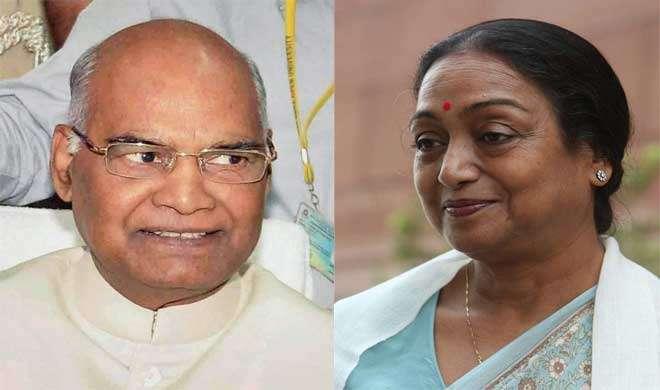 राष्ट्रपति चुनाव: प्रधानमंत्री मोदी ने डाला वोट, कोविंद और मीरा के बीच सीधा मुक़ाबला