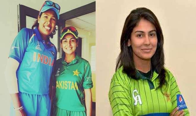 पाकिस्तानी बॉलर कायनात ने झूलन के लिए पोस्ट किया एक भावुक संदेश