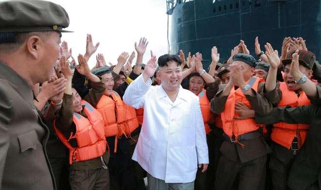 मिसाइल परीक्षण का जश्न मनाने के लिए कॉन्सर्ट में शामिल हुए किम जोंग