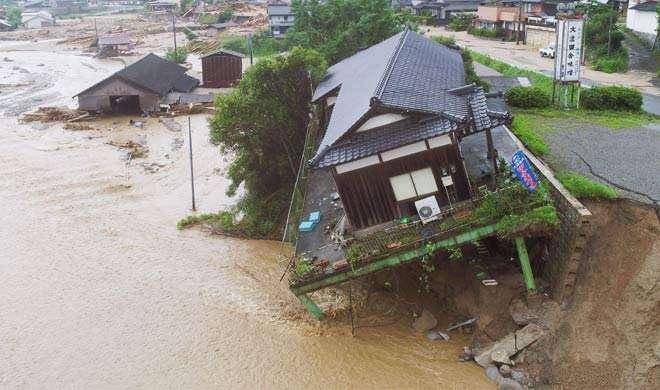 जापान: बाढ़ से मरने वालों की संख्या बढ़कर 25 हुई