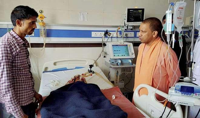 लखनऊ के KGMU में भीषण आग से 4 मरीजों की मौत, CM योगी ने किया दौरा