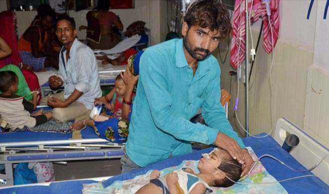 गोरखपुर त्रासदी: 63 बच्चों की मौत, प्रधानाचार्य निलंबित