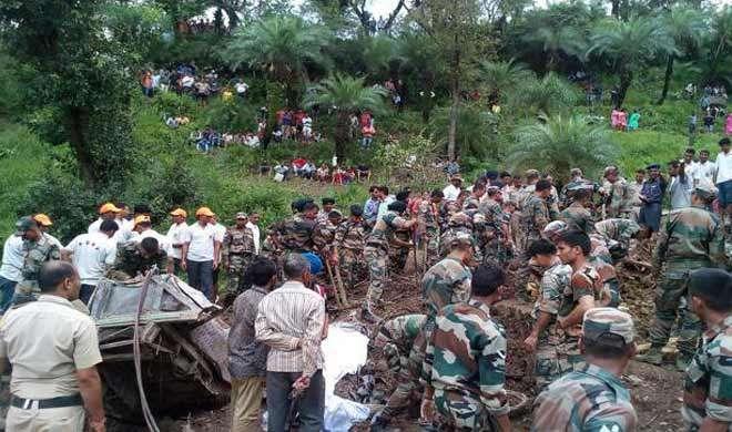 जमीन धंसने से हिमाचल प्रदेश में 46 लोगों की मौत