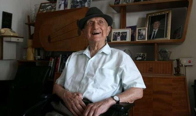 दुनिया के सबसे बुजुर्ग व्यक्ति इस्राइल क्रिस्टल का निधन