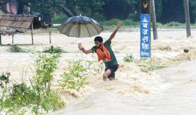 नेपाल में बाढ़ और भूस्खलन में कम से कम 55 लोगों की मौत