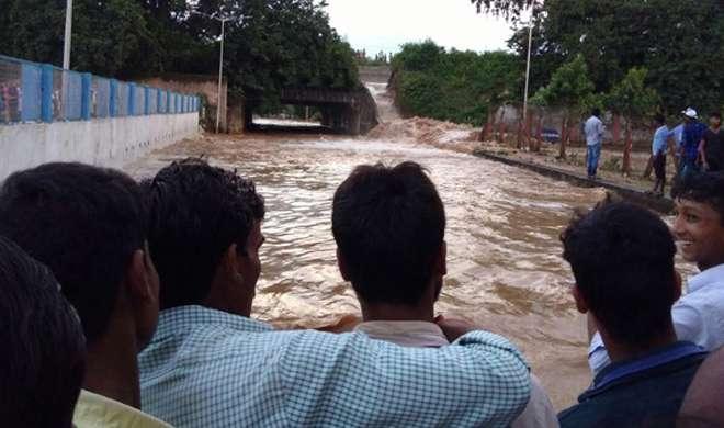 आज नीतीश भागलपुर में जिस बांध का करने वाले थे उद्घाटन उसका एक हिस्सा टूटा