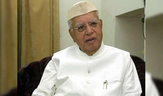UP के पूर्व मुख्यमंत्री एनडी तिवारी ब्रेन हेमरेज के शिकार, ICU में भर्ती