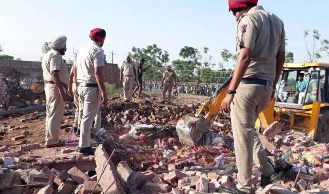 पंजाब में पटाखे के गोदाम में विस्फोट, 5 मरे