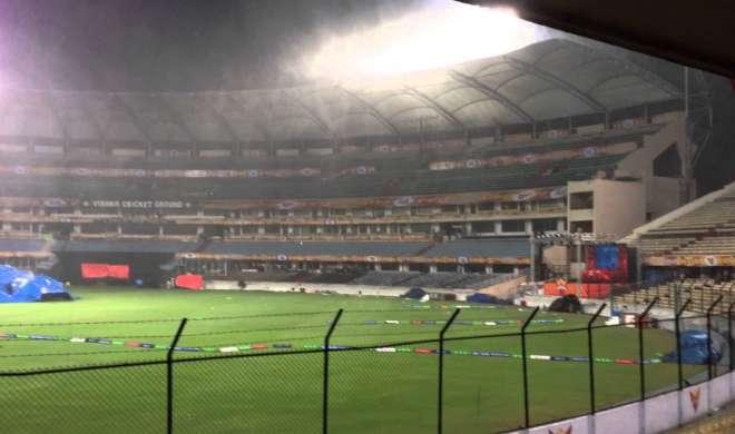 Ind vs Aus,T-30: निर्णायक तीसरे टी-20 मैच पर बारिश का ख़तरा