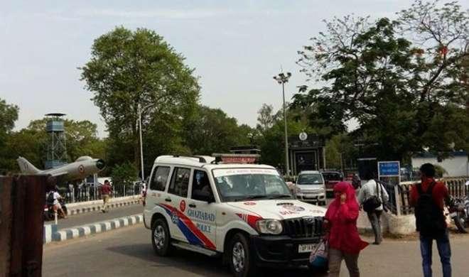 हिंडन एयरबेस में घुसने की कोशिश कर रहे शख्स को सुरक्षाकर्मियों ने गोली मारी