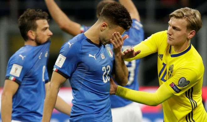 60 साल में पहली बार विश्व कप के लिए क्वालीफाई नहीं कर सका इटली