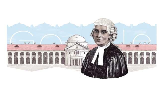 भारत की पहली महिला बैरिस्टर को गूगल ने डूडल बनाकर दी श्रद्धांजलि