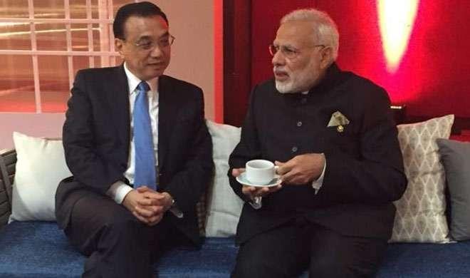 पीएम मोदी और चीन के प्रधानमंत्री के बीच हुआ गहन विचार-विमर्श