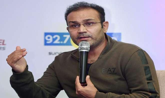 इंडिया टीवी से बोले सहवाग, धवन के साथ विजय को करनी चाहिए ओपनिंग, राहुल को बैठना होगा बाहर