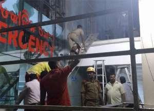 Pictures: भुवनेश्वर के अस्पताल में आग से तबाही का मंजर