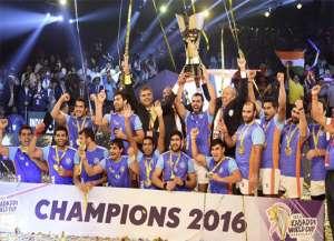 तस्वीरों में देखिए.. भारतीय कबड्डी टीम की जीत का जश्न