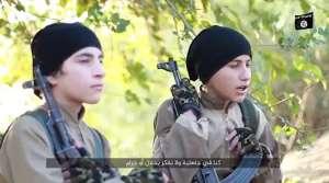 VIDEO: ISIS के इन दो मासूम बच्चों ने ''दुश्मनों'' के बीच घुसकर ख़ुद को यूं उड़ाया