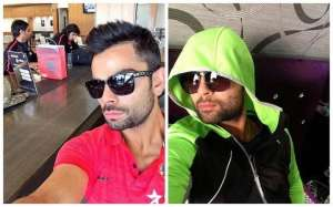 किक्रेट खिलाड़ी विराट कोहली की बेहतरीन selfie
