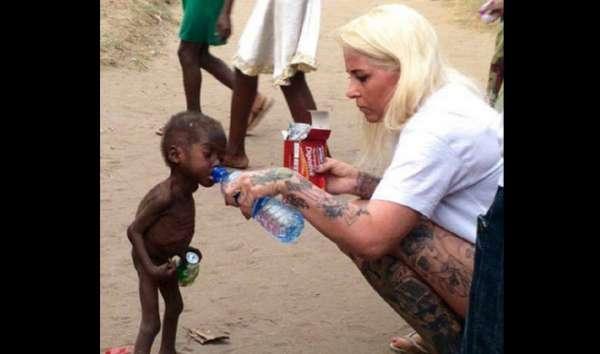 मां-बाप ने शैतान बताकर बच्चे को छोड़ा, देखिये दयनीय तस्वीरें