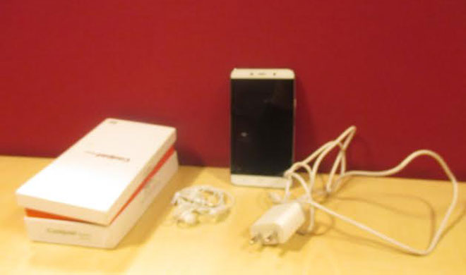 coolpad note 3 with box and charger