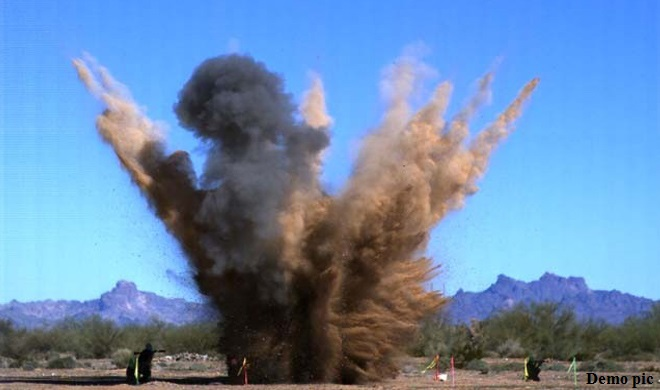 जैसलमेर में मोर्टार फटने से 2 बीएसएफ जवानों की मौत, 5 घायल