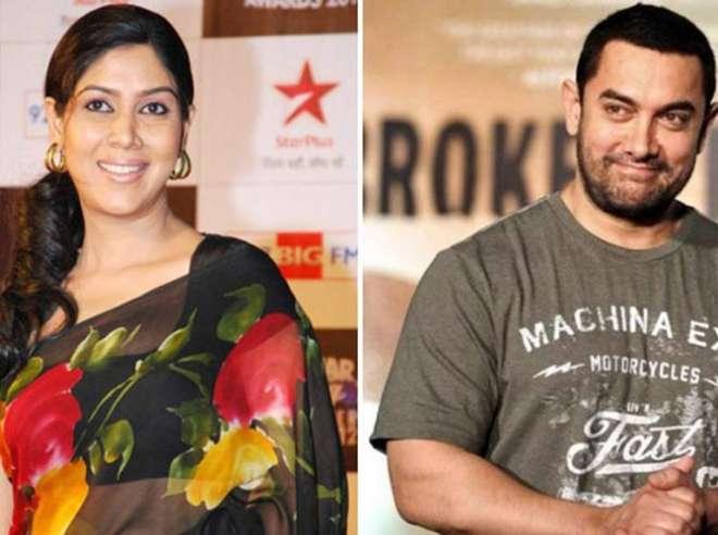 फिल्म दंगल में साक्षी आमिर खान की पत्नी की भूमिका में नजर आएगी।