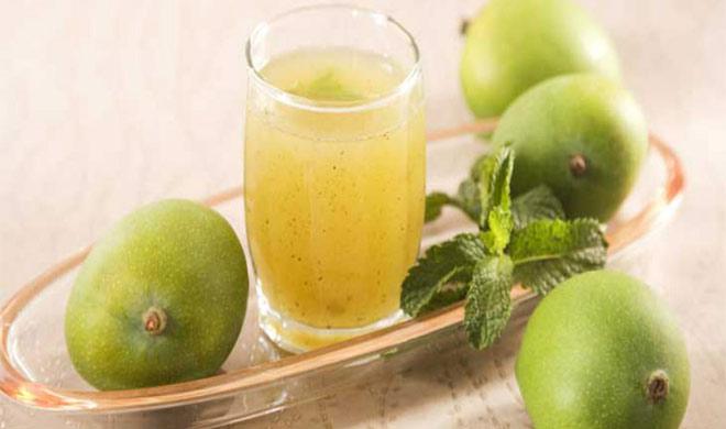 स्वादिष्ट कच्चे आम का पन्ना(Mango Panna Recipes in Hindi)
