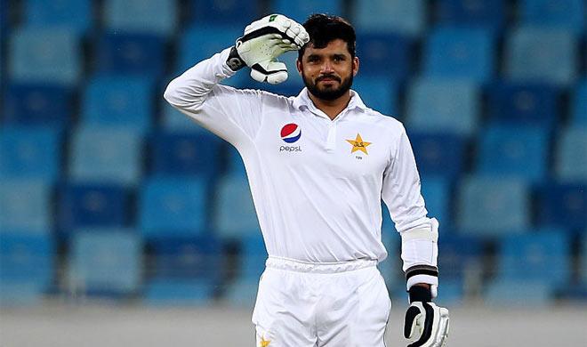 दुबई टेस्ट: अज़हर का तिहरा शतक, पाकिस्तान मज़बूत स्थिति में - India TV