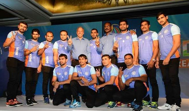 कबड्डी विश्व कप-2016 : अर्जेटीना को हरा भारत ने लगाई हैट्रिक - India TV