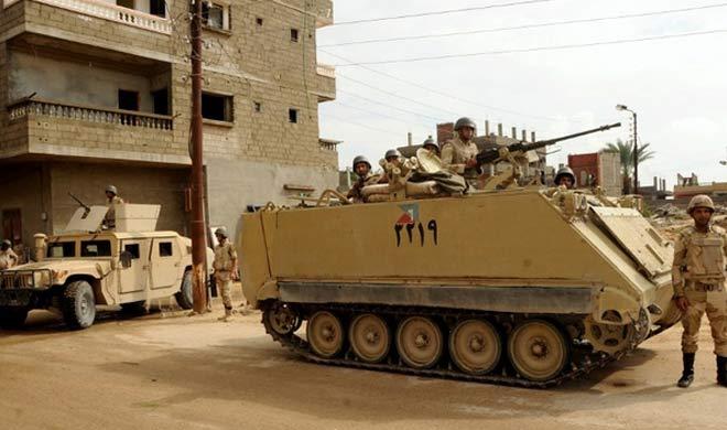 मिस्र: IS के खिलाफ सैन्य अभियान में 18 उग्रवादियों की मौत - India TV