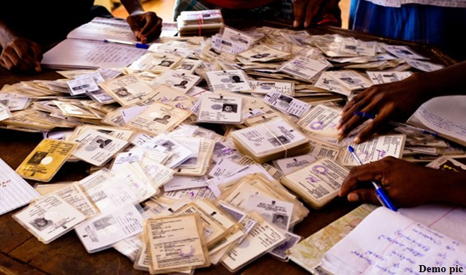 गोवा में 500 वोटर कार्ड नाले में पाए गए, सीईसी ने जांच के आदेश दिए - India TV