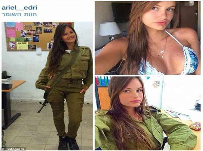 Israel women soldiers