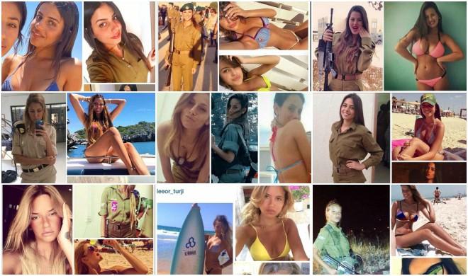 Israeli women soldiers