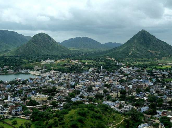 Hills around Pushkar