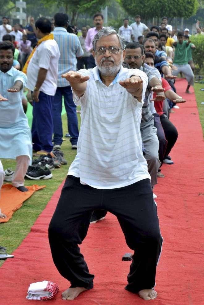 yoga day in bihar