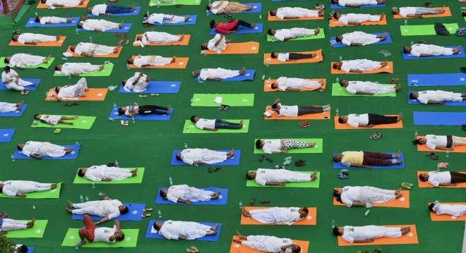 yoga day in delhi