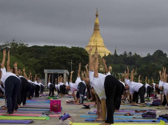 yoga dai myanmar