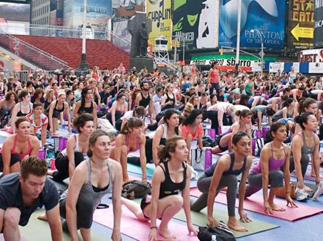 yoga day in new york