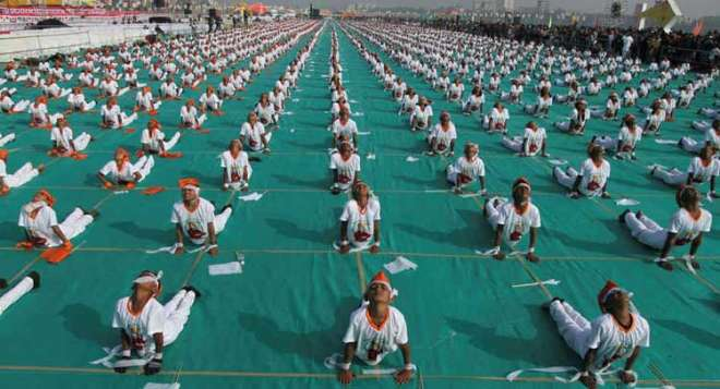 yoga day in dubai