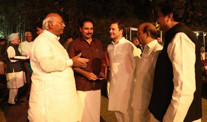 rahul gandhi at dinner party