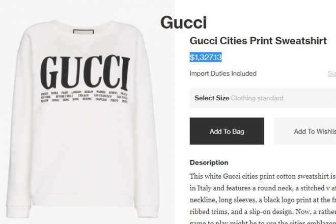 Gucci Sweatshirt