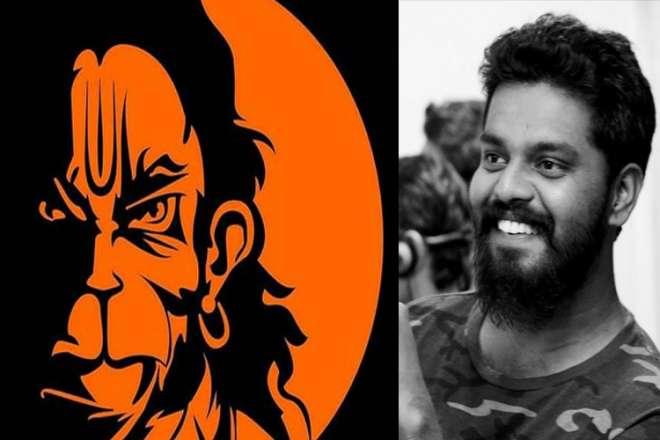 Angry Lord Hanuman made by karan acharya