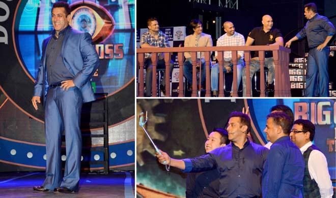 सलमान खान ने किया बिग बॉस 9 का शानदार लॉन्च